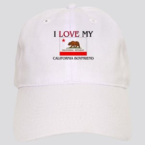 I Love My California Boyfriend Cap