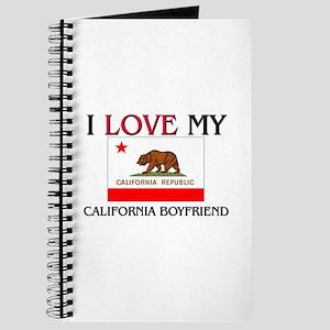 I Love My California Boyfriend Journal