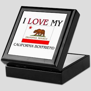 I Love My California Boyfriend Keepsake Box