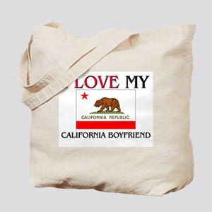 I Love My California Boyfriend Tote Bag