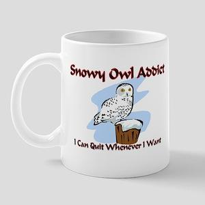 Snowy Owl Addict Mug