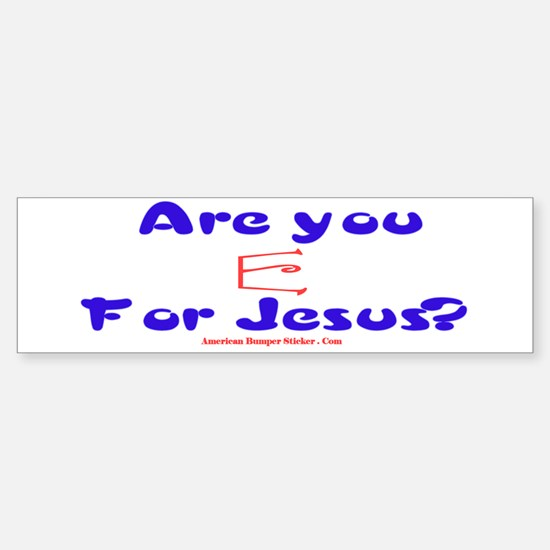 Are you 'Red E' for Jesus?