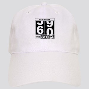 60th Birthday Oldometer Cap