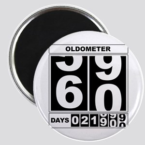 60th Birthday Oldometer Magnet