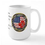 Masonic rtj WM Personalized Large Mug