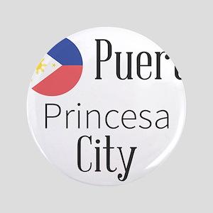 """Puerto Princesa City 3.5"""" Button (100 pack)"""