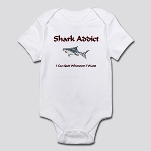 Shark Addict Infant Bodysuit