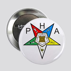 "PHA Eastern Star 2.25"" Button"
