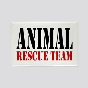 Animal Rescue Team Rectangle Magnet