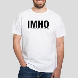 IMHO White T-Shirt