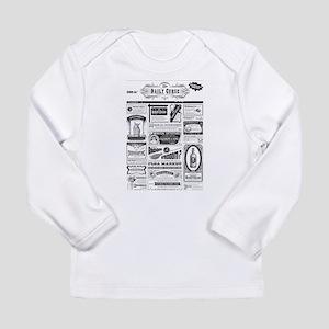Creepy Newspaper Long Sleeve T-Shirt