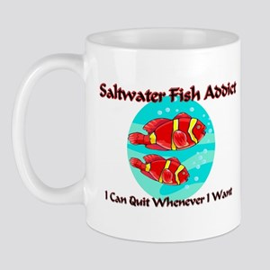 Saltwater Fish Addict Mug