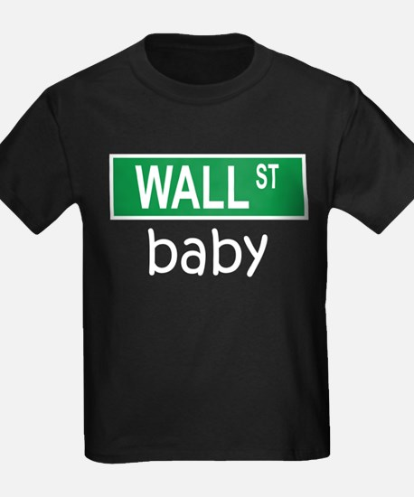 WALL ST baby T