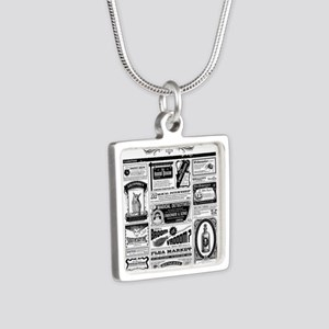 Creepy Newspaper Necklaces