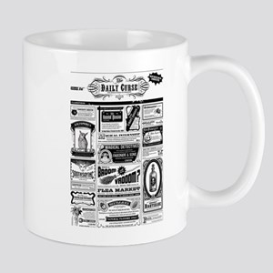 Creepy Newspaper Mugs