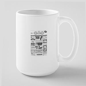 Creepy Newspaper Mugs