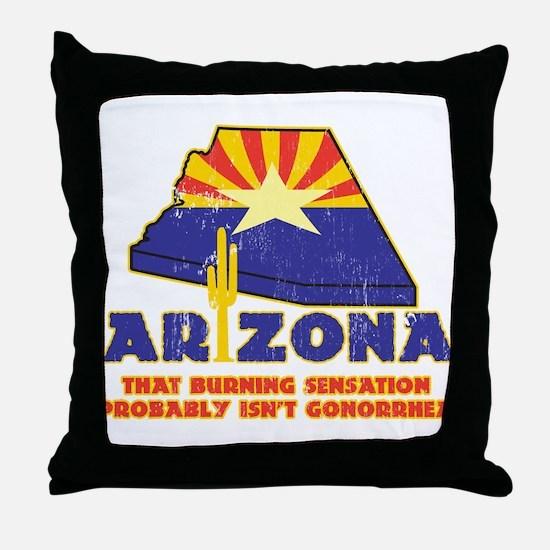 arizona - thats hot Throw Pillow