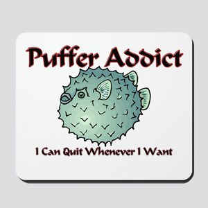 Puffer Addict Mousepad