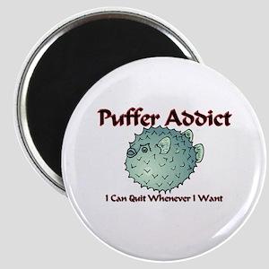 Puffer Addict Magnet