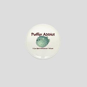 Puffer Addict Mini Button