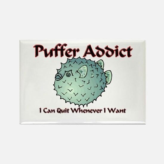 Puffer Addict Rectangle Magnet