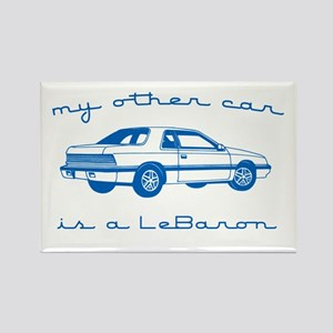 my other car is a lebaron Rectangle Magnet