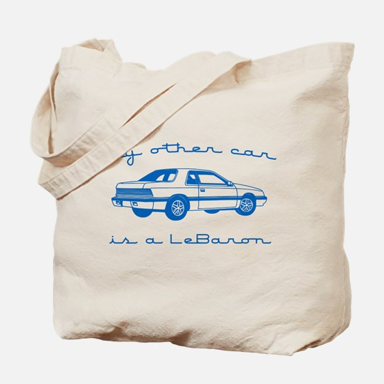 my other car is a lebaron Tote Bag