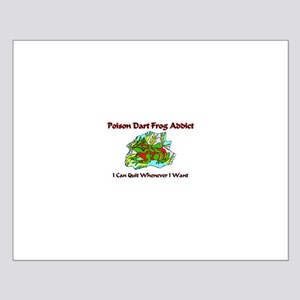 Poison Dart Frog Addict Small Poster