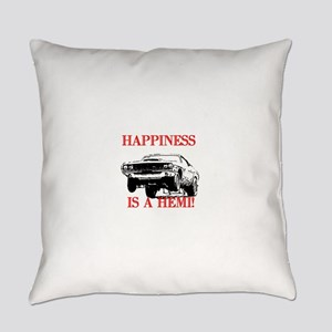 AFTMHappinessIsAHemi! Everyday Pillow