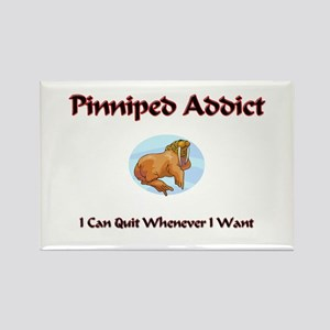 Pinniped Addict Rectangle Magnet