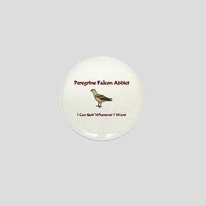 Peregrine Falcon Addict Mini Button