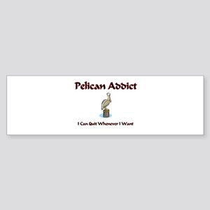 Pelican Addict Bumper Sticker