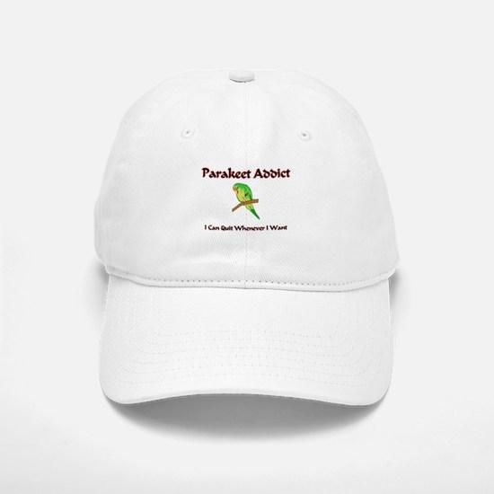 Parakeet Addict Baseball Baseball Cap