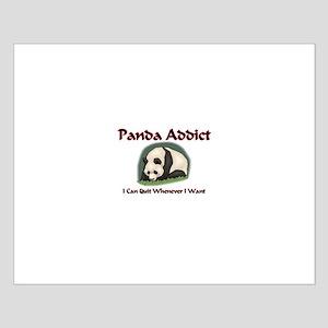 Panda Addict Small Poster