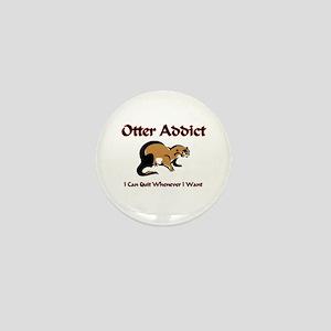 Otter Addict Mini Button