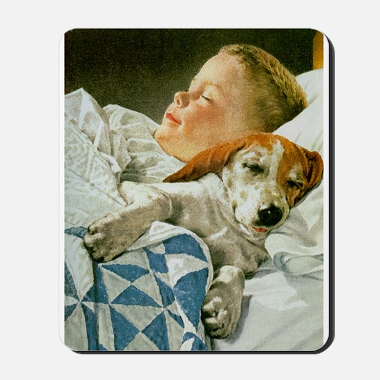 Bed Buddy Mousepad