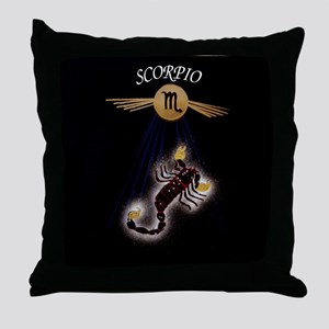 scorpio serie II Throw Pillow