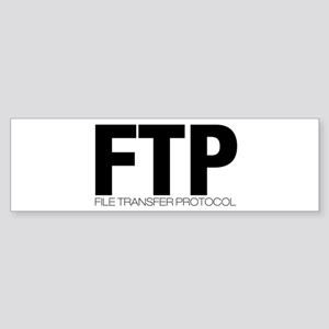 FTP Bumper Sticker
