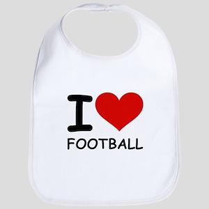 I LOVE FOOTBALL Bib