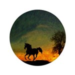 AFTM Old Black Stallion At Sunrise Button