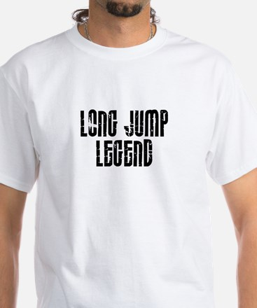 Long Jump Legend White T-Shirt