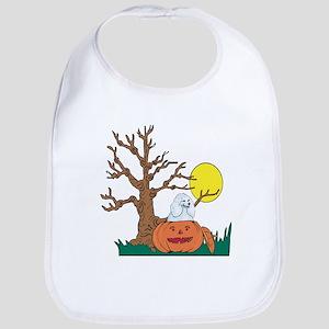 Halloween Pumpkin Poodle Bib