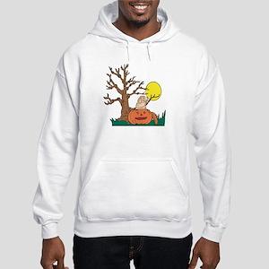 Halloween Pumpkin SharPei Hooded Sweatshirt