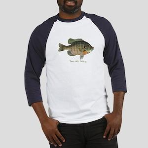 Take a Kid Fishing Baseball Jersey