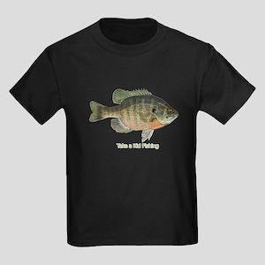 Take a Kid Fishing Kids Dark T-Shirt