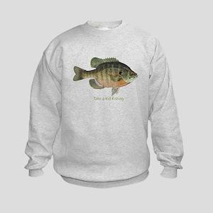 Take a Kid Fishing Kids Sweatshirt