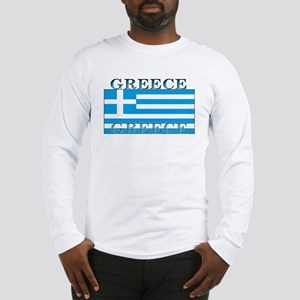 Greece Greek Flag Long Sleeve T-Shirt
