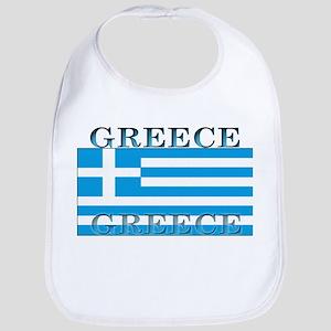 Greece Greek Flag Bib