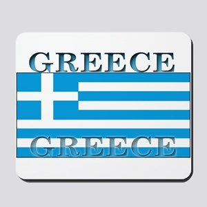 Greece Greek Flag Mousepad