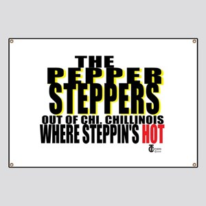 The Original Pepper Steppers Banner